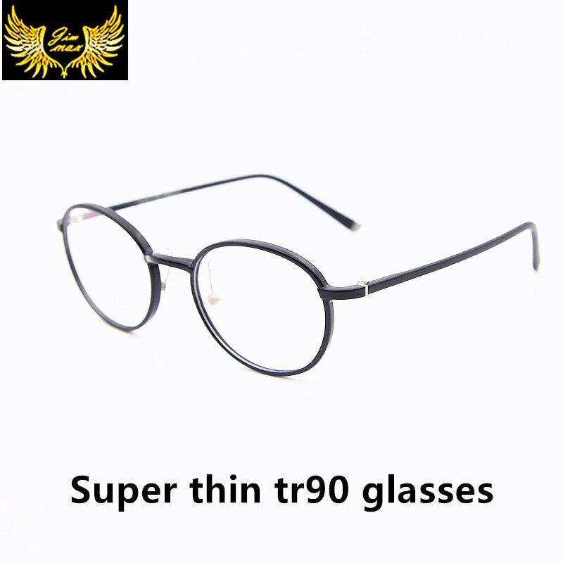 2016 Nouveau Design Vintage TR90 Femmes Lunettes Qualité De Mode petite  Taille Rétro Ronde Optique Cadre Lunettes Pour Hommes Femmes Oculos 62b6283f619f