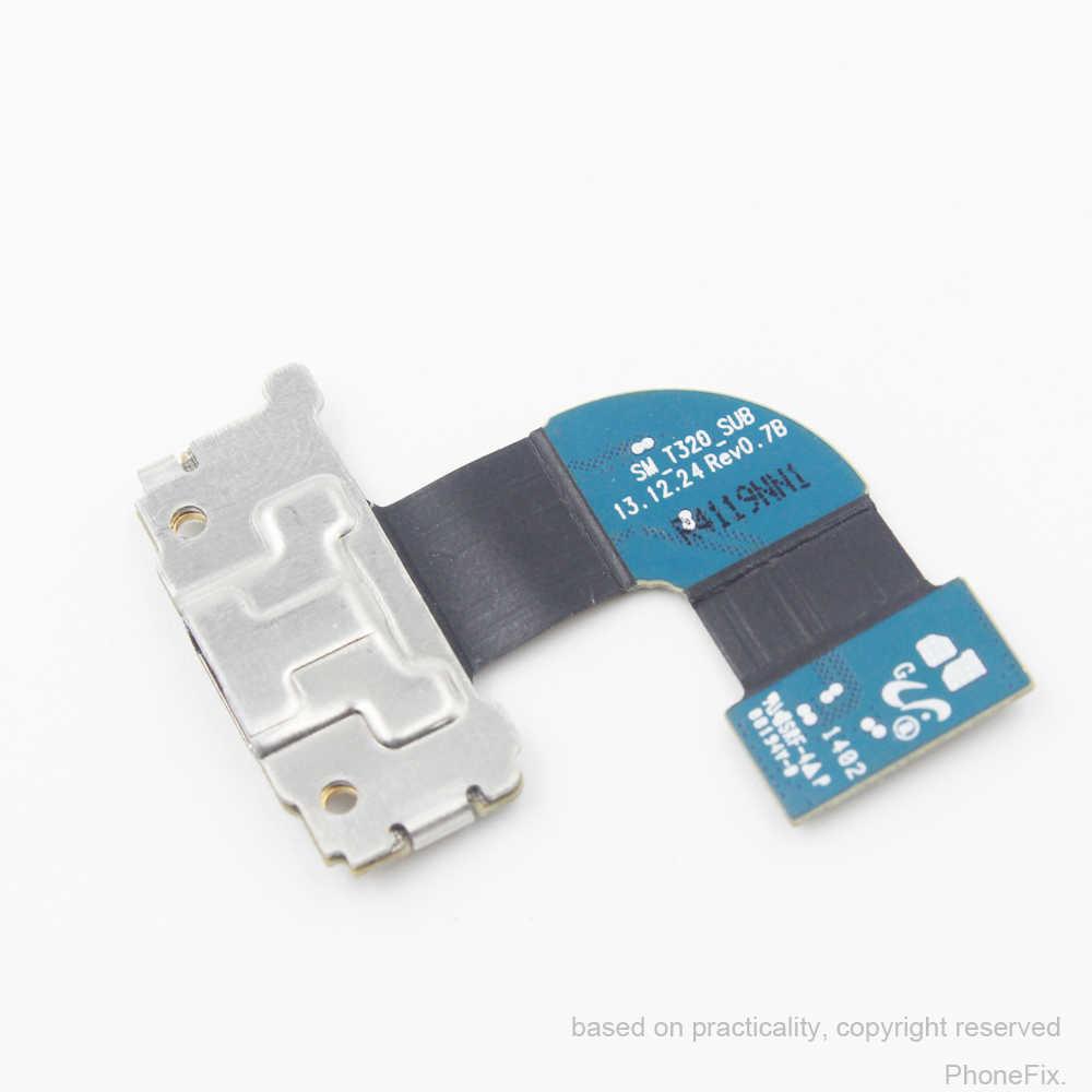 Для Galaxy Tab Pro 8,4 SM-T320 T320 Оригинальный Новый зарядный порт зарядное устройство соединитель разъемов для подключения Micro USB Шлейф