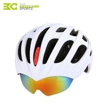 Basecamp 5 матовые цвета велосипедный шлем с 3 объектив мужская велосипед шлемы дышащий сверхлегкий девушки велосипедные шлемы