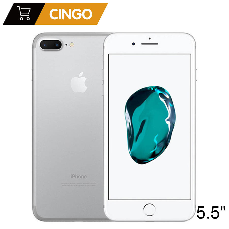 Apple iPhone 7 Plus 3 ГБ Оперативная память 32/128 ГБ/256 ГБ Встроенная память IOS Quad-Core 12.0MP отпечаток пальца камеры оригинальный iPhone7 плюс LTE мобильный теле...