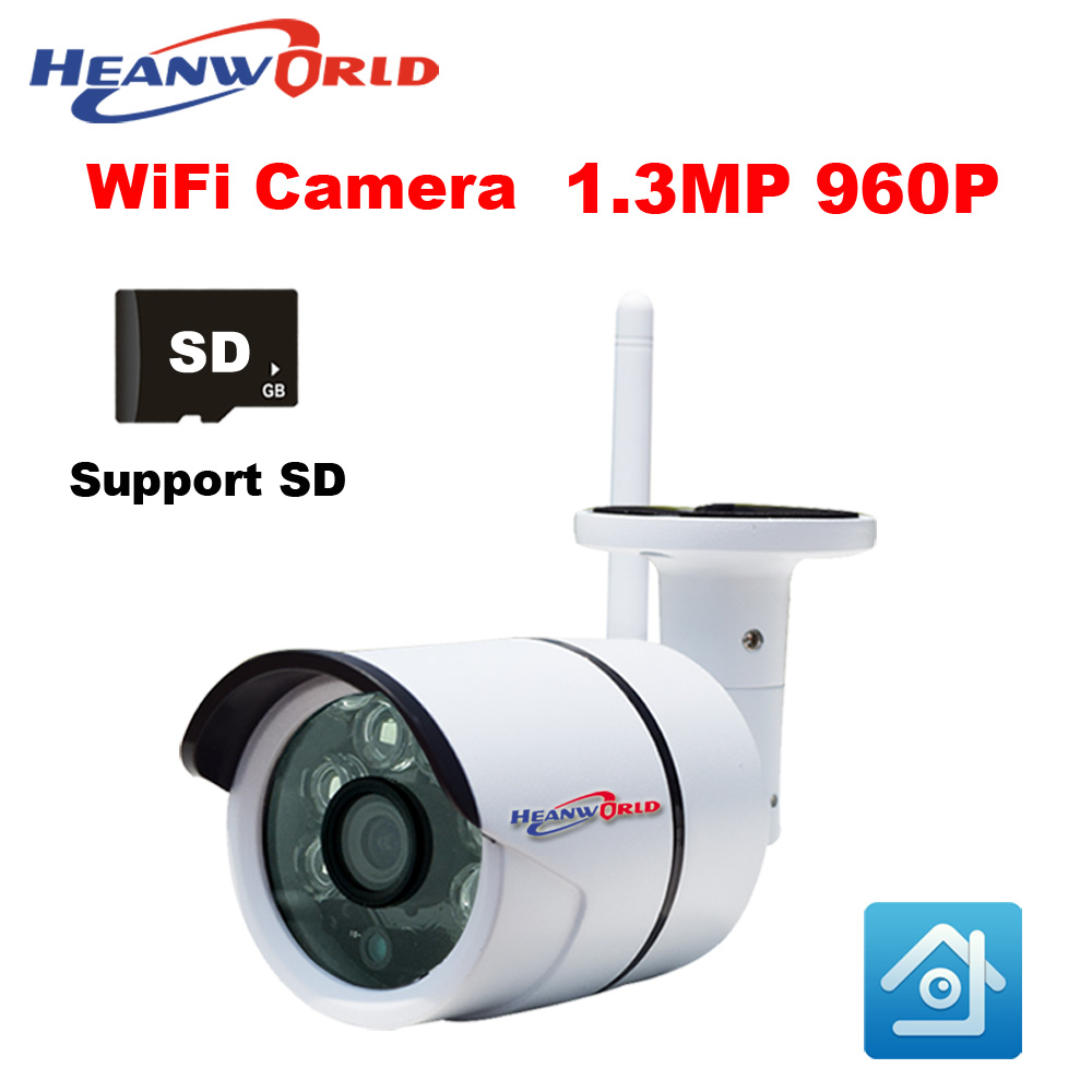 IP Camera Outdoor WiFi Camera IP 960P 1.3MP Waterproof CCTV Camera System Wireless Video Surveillance Camera Home Security Cam jienuo ip camera 960p outdoor surveillance infrared cctv security system webcam waterproof video cam home p2p onvif 1280 960