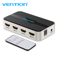 Vention HDMI Switch 3 Input 1 Out HDMI Splitter 4K HDMI Switcher For PS3 PS4 Xbox 360 PC DV HDTV Smart TV Audio Splitter