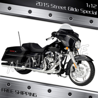1:12 Scale New Harley Street Glide Special Metal Diecast Model Motorcycle Motorbike Racing Cars Kids Boys Vehicle Collection