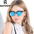 BAVIRON Марка Ретро Классические Солнцезащитные Очки Красочные TR90 Рамка Поляризованных Солнцезащитных Очков Мужчины Женщины Фантастические UV400 Вождения Очки 2015