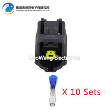 10 PCS 1 pin waterproof male and female plug DJ70117Y-1.8-21 automotive connector with terminal