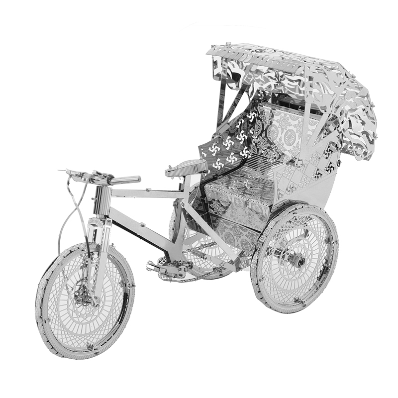 Rompecabezas modelo 3DMetal Multi-estilo DIY Laser Cut Rompecabezas - Juegos y rompecabezas - foto 4