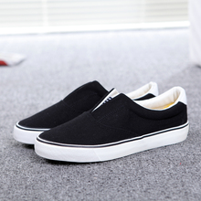 Couple Canvas Shoes 2017 Female slip-on cotton-made Male Female Casual Shoes Slipony men Footwear Hot