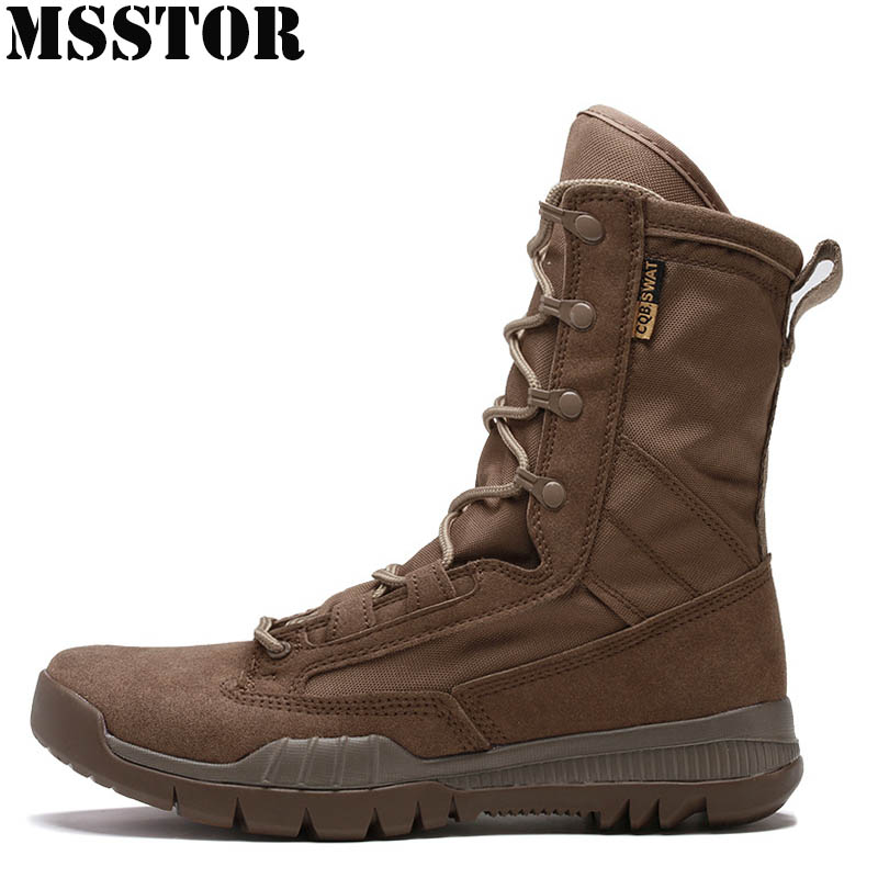 MSSTOR 2018 Men Hiking Shoes Man Brand Hunting Trekking Hiking Boots Camping Sport Shoes For Men Training Climbing Mens Sneakers mulinsen winter2017 tactical boots hiking shoes for men climbing mountain sport shoes man brand ankle boots men s sneakers