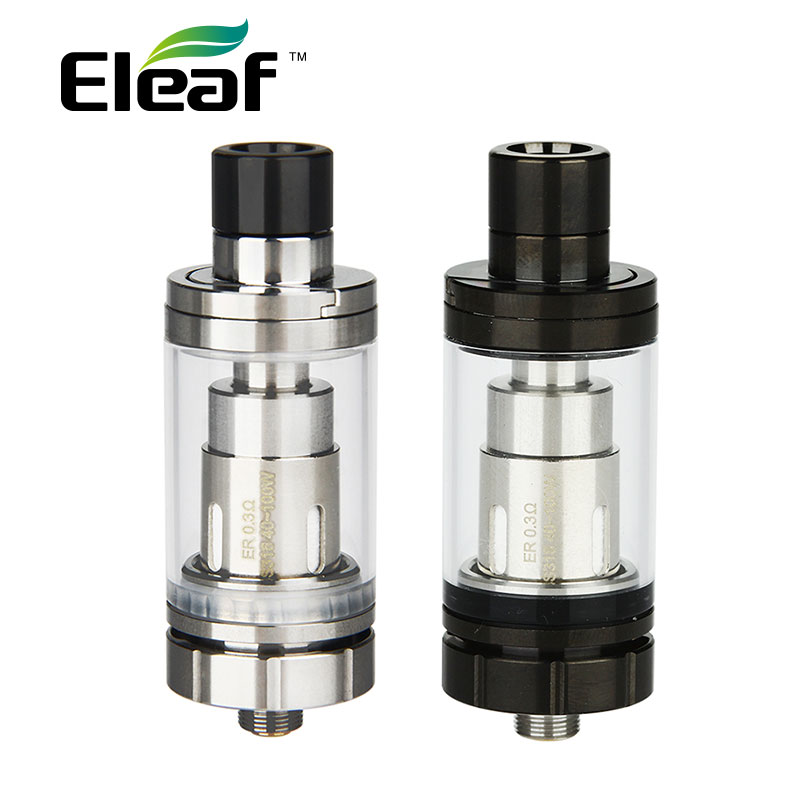 100% Original Eleaf Melo RT 22 Atomizer 3.8ml with ER Coil 0.3ohm Top Filling Detachable Structure Tank 22mm vs Melo 3 Tank