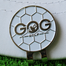 Golf ball marker with cap clip Alloy Professional Training Aids Accessories