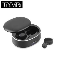 цена на TiYiViRi Wireless headset TWS fingerprint touch Bluetooth headset, HD stereo wireless headset, Bluetooth 5.0 noise reduction