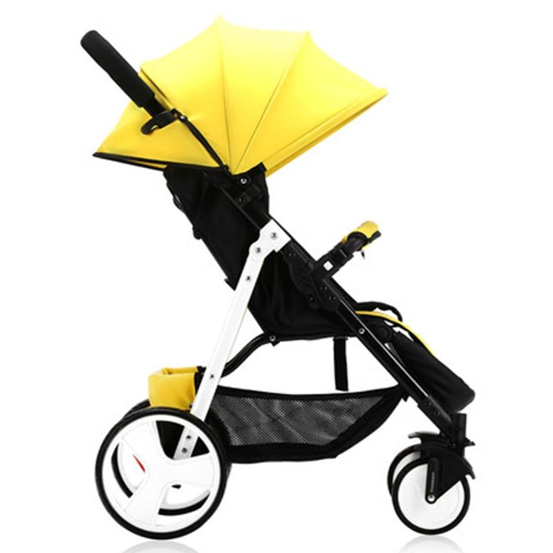 Wózek dziecięcy Sally parasolka zimą i latem z ręki może - Aktywność i sprzęt dla dzieci - Zdjęcie 2