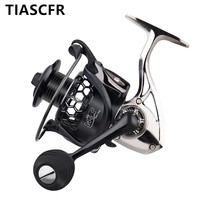 TIASCFR Spinning Fishing Reel Metal 14+1BB XS1000 7000 Series Water Resistance Ultra Light Reel High Gear Ratio Spinning wheel