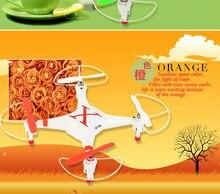 2014 nouveau produit CX30 RC quadcopter 4CH avec LED Lumière Mini Drone 3D Flip FPV TP55W Meilleur Cadeau D'anniversaire