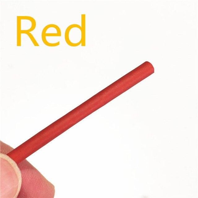 1 metr 2:1 9 kolorów 0.6mm 0.8mm 1mm 1.5mm 2mm 2.5mm 3mm 3.5mm 4mm 4.5mm 5mm termokurczliwe rurki termokurczliwe rurowy Dropshipping