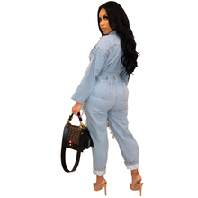 Long Sleeve Soft Loose Jumpsuit