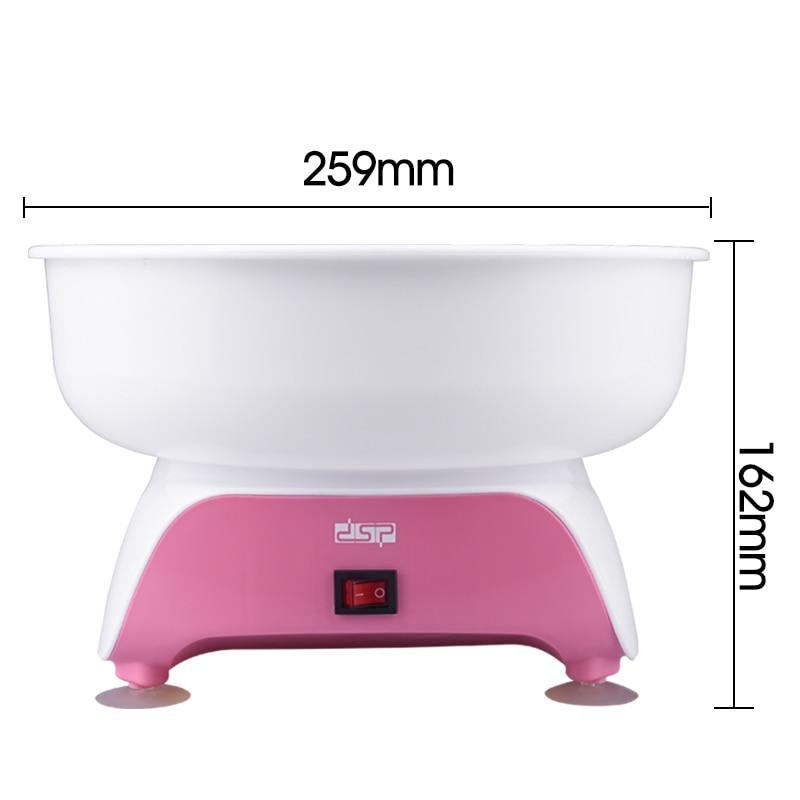 DSP Electric Cotton Candy Maker DIY Machine Children Snack Maker cotton candy boiler 450W 220V