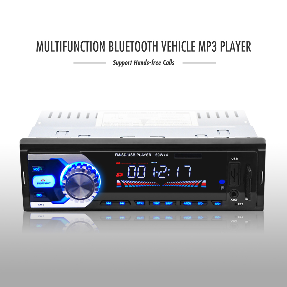 new car mp3 player fm car radio player 12v bluetooth music. Black Bedroom Furniture Sets. Home Design Ideas