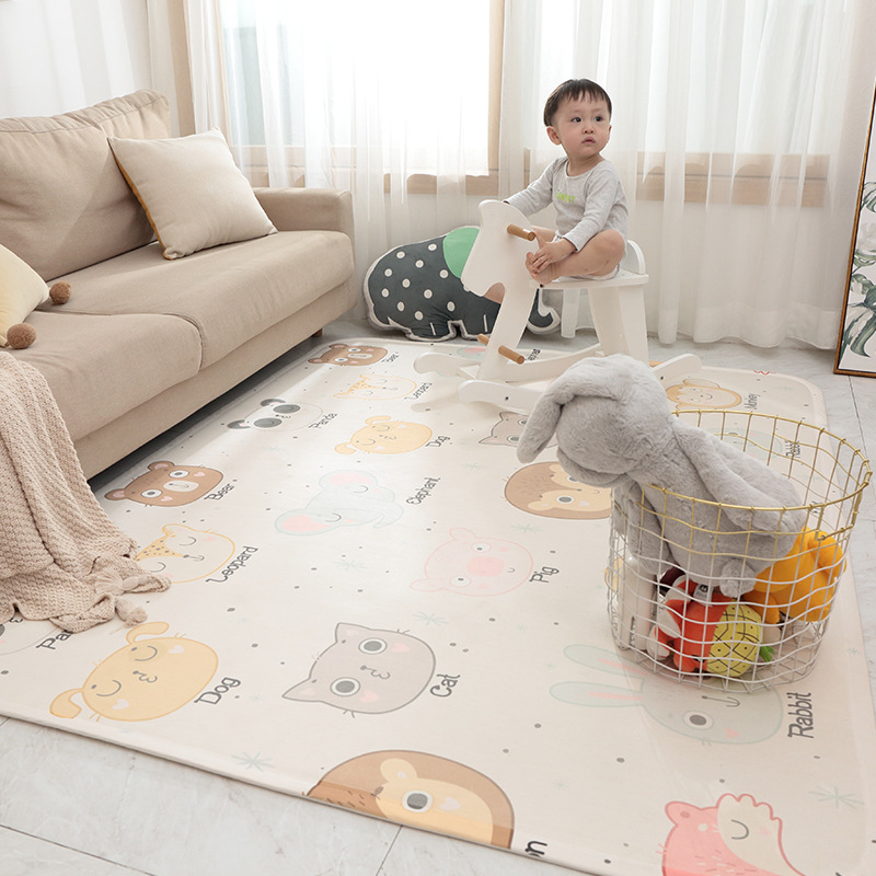 2019 nouveau bébé ramper tapis acrylique tissu Super doux épais Cool respirant salon chambre enfants jouer tapis de sol