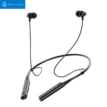 Купить с кэшбэком Haylou C10 Neckband Wireless Collar Headphones In-Ear Binaural Stereo Bluetooth Sport Earphones with Mic