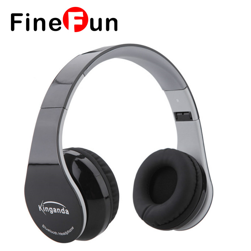ФОТО FineFun Over-the-head Foldable Wireless Bluetooth Headset 4.0 For Headphones Hands-free Headset with Microphone for Smart Phones