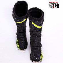 Men size 6 13 Waterproof SN202 microfiber leather stivali moto enduro MId calf botas moto Ktm