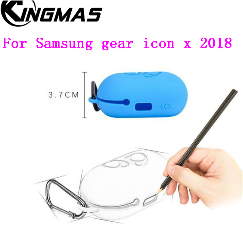 824a2aaa71c For Samsung gear icon x 2018 Silicone Case Cover Protective Skin for gear  iconx 2018 Charging