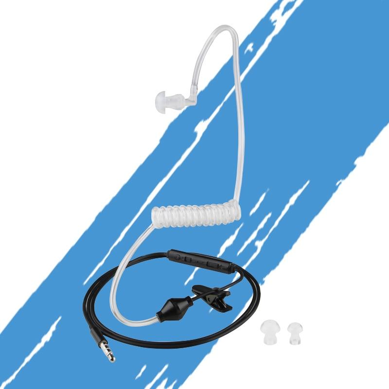 Air Whirlpool Headphone M37 FBI Transparent Cell Phone Headset Anti-Radiation Headphones Suitable For Samsung Iphone