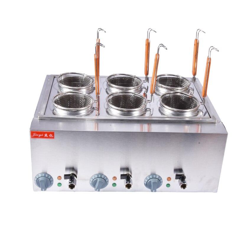 Electric Box 6 basket Commercial Stove Pasta Boiler Noodles Cooking ...