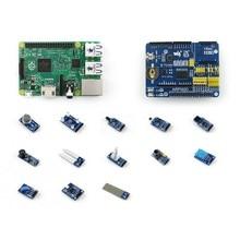 Raspberry Pi 2 B Package D including ARPI600 Expansion Kit + Sensors Pack+Raspberry Pi 2 Model B