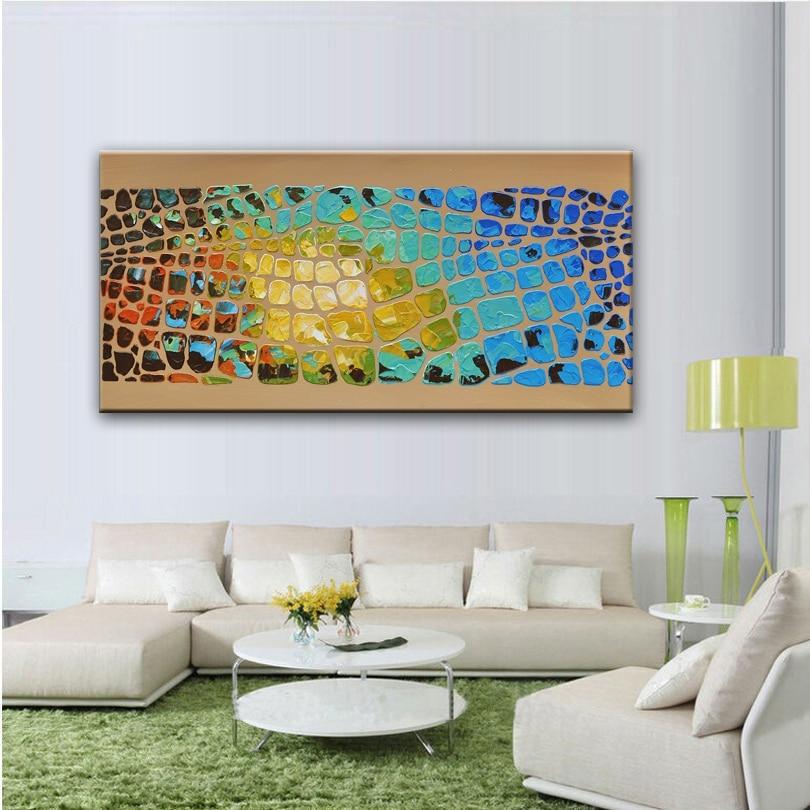 pintura a óleo de alta qualidade moderna