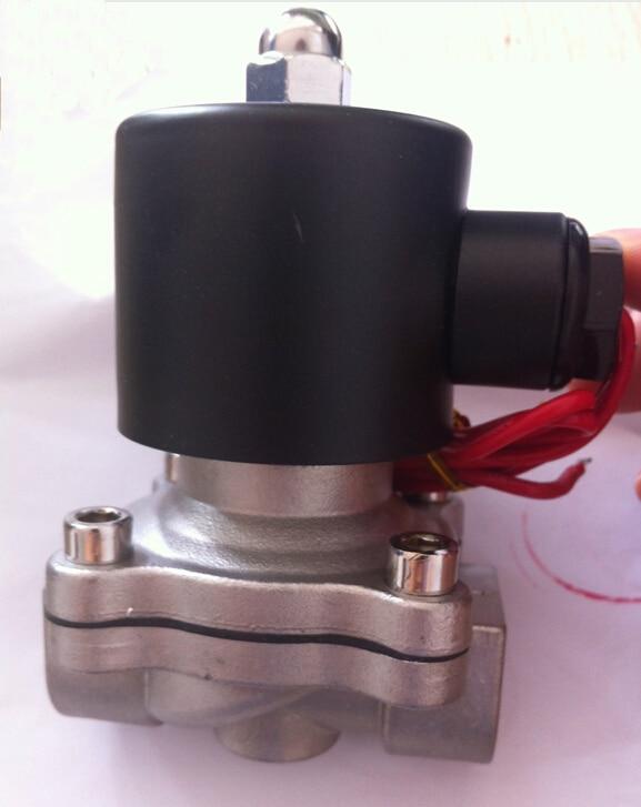 1/2 Stainless Steel Electric solenoid valve 12VDC Normally Closed DC24V,AC110V or AC220V дорожка для декорирования стола schaefer 40x140 см 07725 211