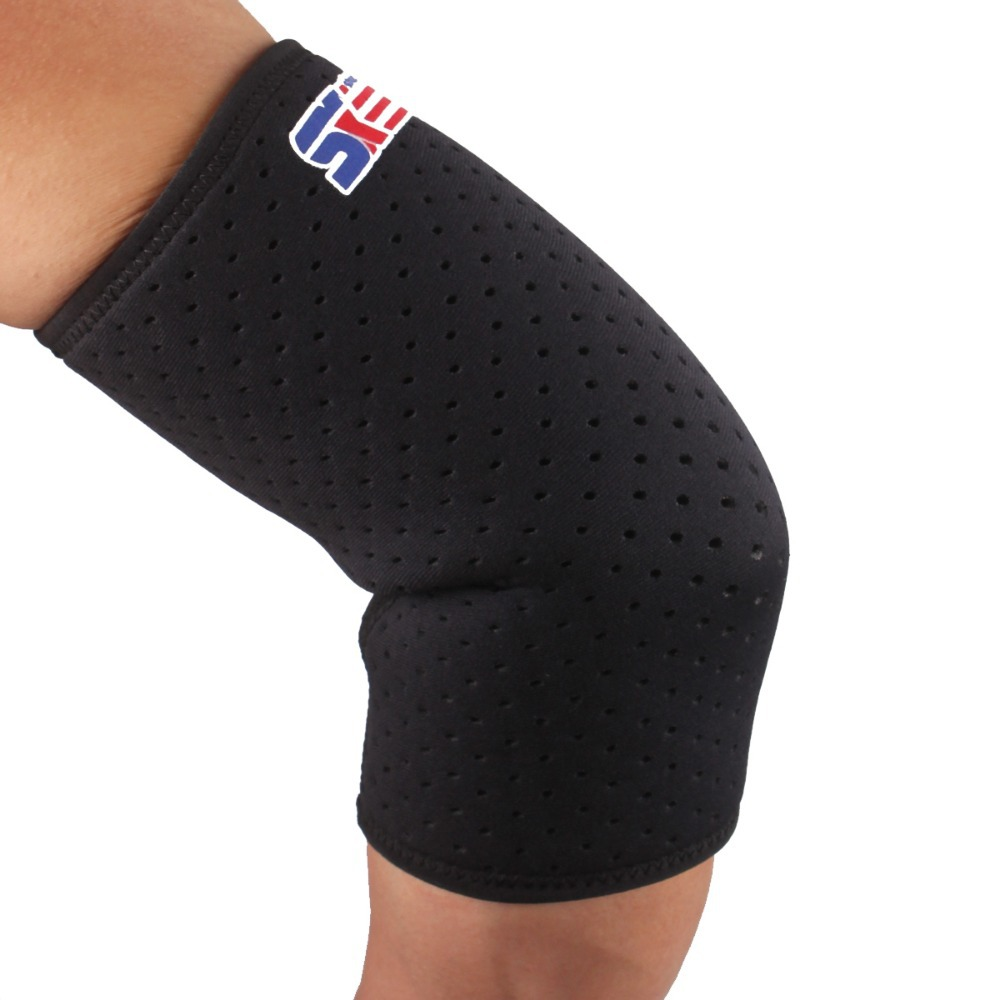 1PCS SX603 Sports Golf Elbow Brace Protector Support Wrap Sleeve - Black