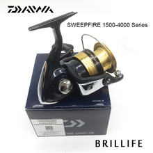 Daiwa SWEEPFIRE Spinning Fishing Reel 1500-4000 Series 2BB Fishing Reel