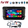 2DIN 7'' VW Golf V passat bora turan DVD car dvd player with GPS touch screen ,steering wheel control,stereo,radio,usb,BT
