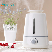 Air Humidifier Ultrasonic 3500ml Aroma Diffuser for Home Office Baby Spa Yoga with 3 Mist Vents 260ml/h Large Fog 13h Working
