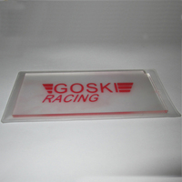 IGOSKI ski wax scraper for removal of excess wax from skis and snowboards tuning snowboarding Plexi remover