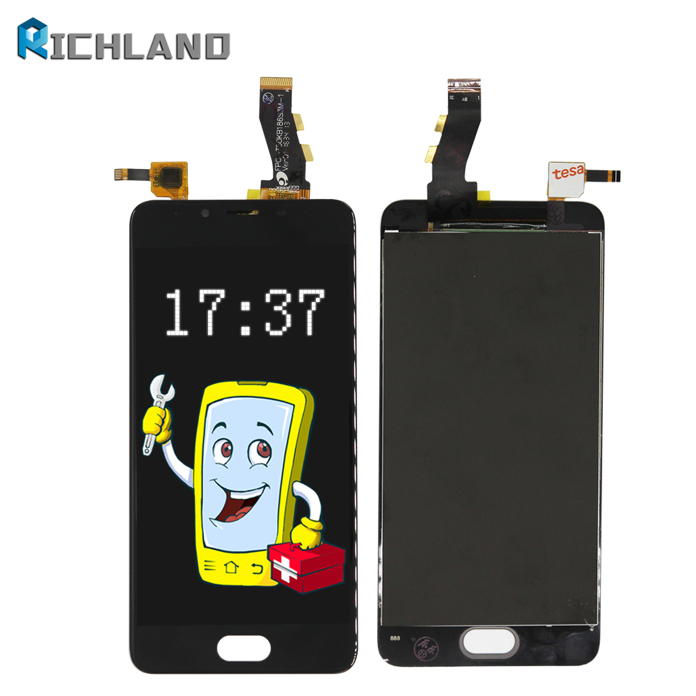 5 For Meizu U10 LCD Touch Screen Digitizer Glass Panel assembly+LCD Display Replacement For meilan U10 LCD Repair tools set