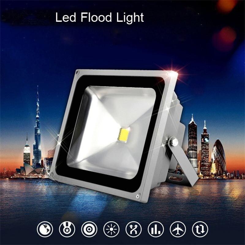 Refletor LED 10W/20W/30W/50W Outdoor Wall Floodlight IP65 Luminaria de Parede AC85-265V Spot Exterieur Projecteur LED Reflector