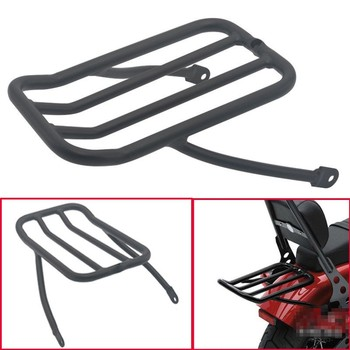 Motorcycle Luggage Shelf Frame Rack For Harley Sportster XL883 1200 48 72