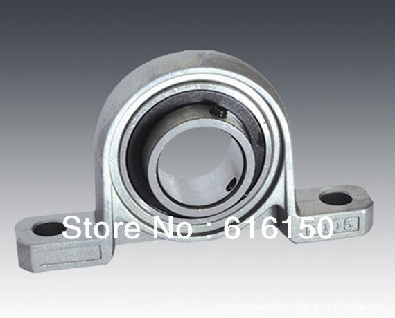 1PCS Stainless steel insert bearing with housing KP002 pillow block bearing Stainless steel insert