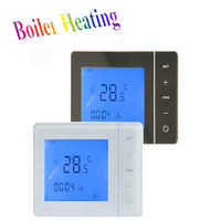 Free Shipping Weekly Programmable Gas Boiler Heating Thermostat Room Heating Thermostat
