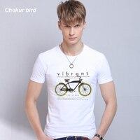 젊은 남성 O 목 인쇄 흰색 여름 T 셔츠 짧은 소매 면 캐주얼 T 셔츠 3XL 새로운 도착 남성 티 탑 660234