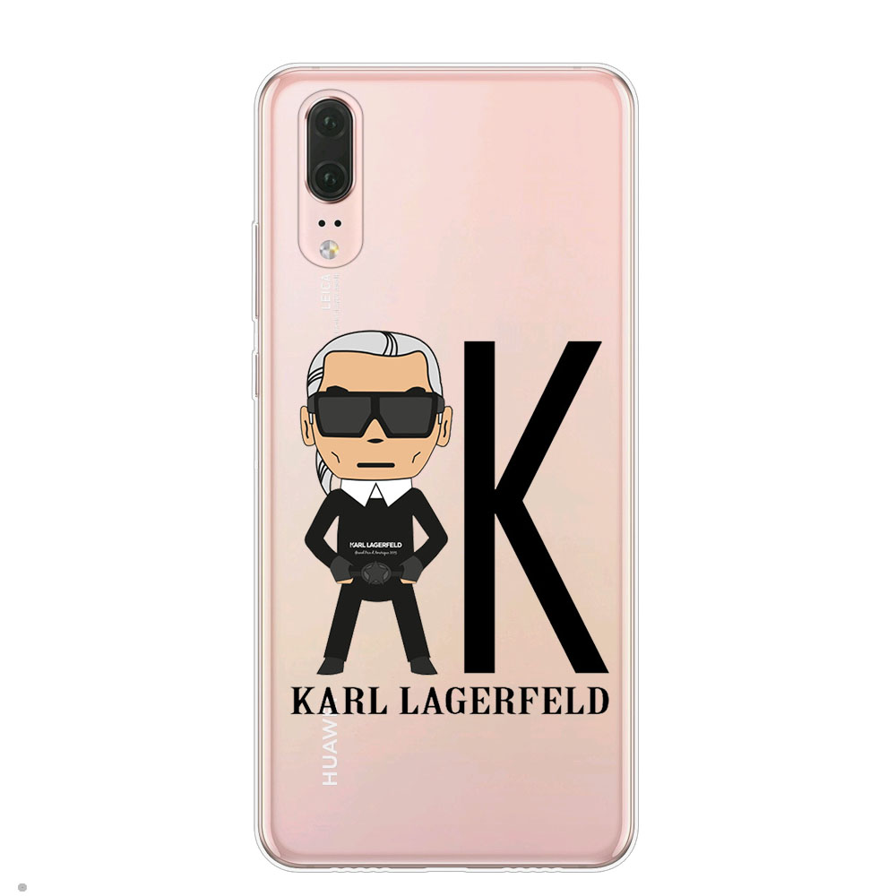 Karl Lagerfeld Phone Case For Coque Huawei P8 P9 Lite 2017 Mate 10 ...