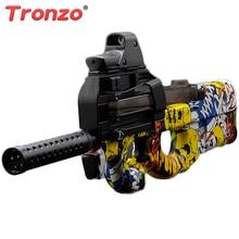 Tronzo 78 cm Eletric CS Graffiti P90 Pistolet Jouet Orbeez Paintball Assaut Snipe Arme Doux Bullet D'eau Jouets Extérieurs Pour Enfants