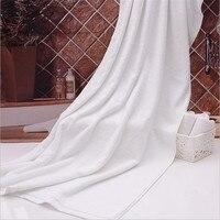 Hot Sell Big Oversize White Microfiber Towel 70 140cm Microfiber Bath Towel For Beauty Salon Foot
