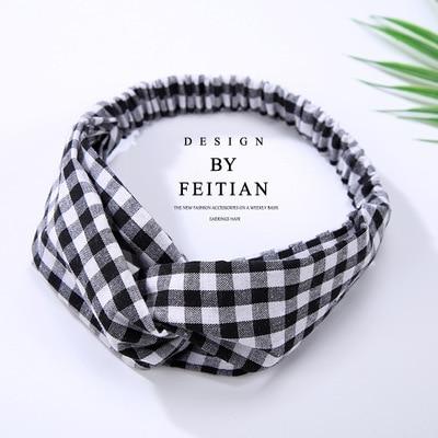 Women P Twist Headband Striped Turban Sport Yoga Head Wrap Bandana Headwear Hair Accessories New Fashion Sot Sales