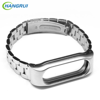 For XIAOMI Band 2 Replacement Metal Strap Wrist Band Smart Wristband Stainless Steel Bracelet Straps For
