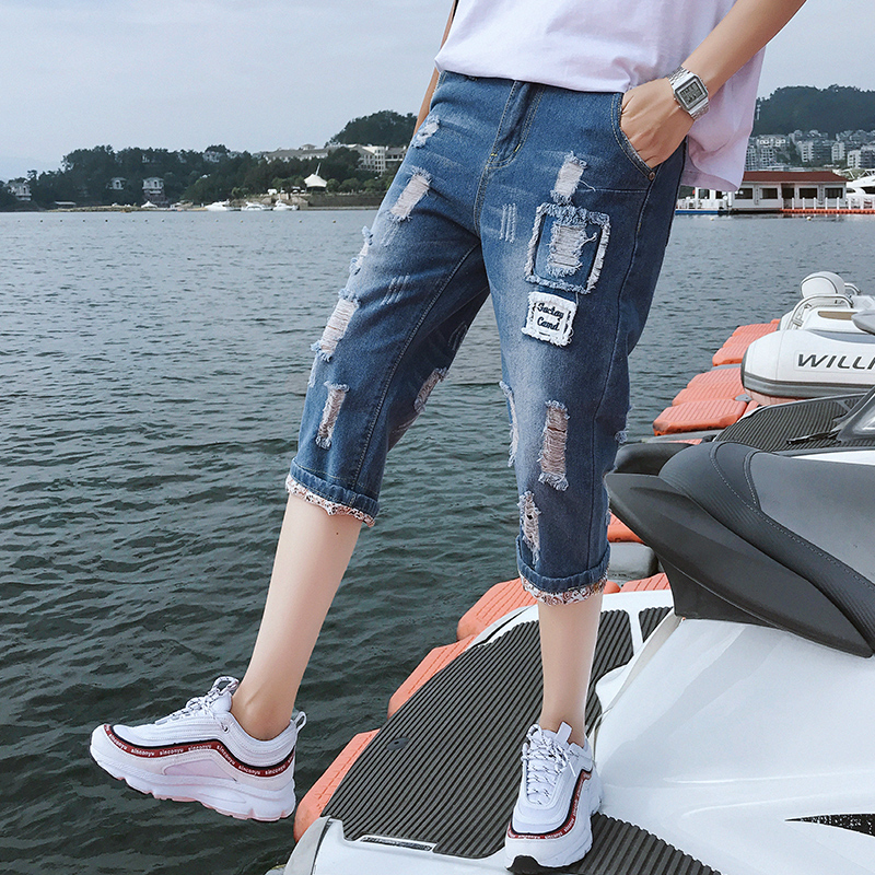 New Men/'s Cool guy Jeans Fashion Skinny Pants Trousers Logo Design Italy size