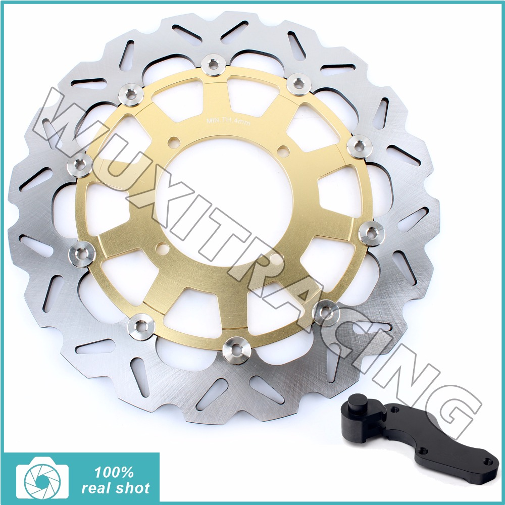 Oversize 320MM Front Brake Disc Rotor Bracket Adaptor for KAWASAKI KX125 KX250 KX500 KX250F KLX 250 300 650 R 93-07 94 95 96 97